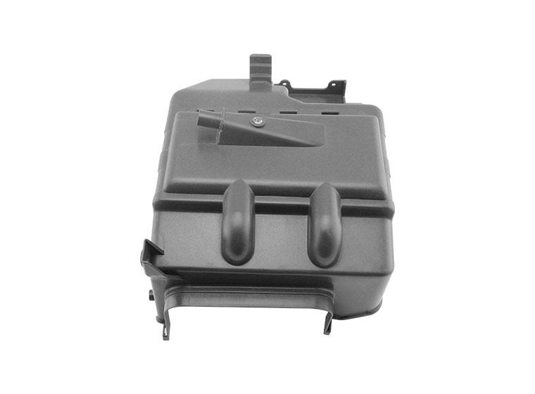 Black, waterproof, hard plastic carrying case