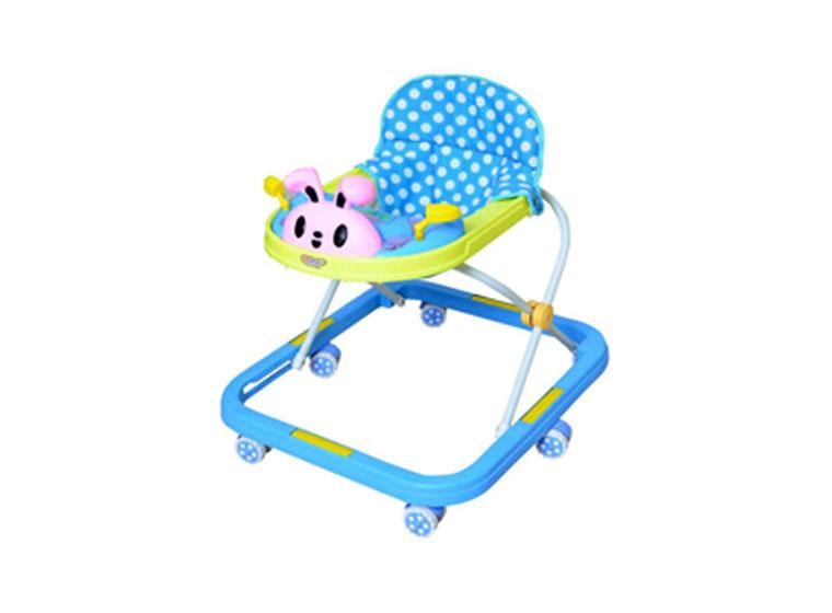 Foldable plastic baby walker