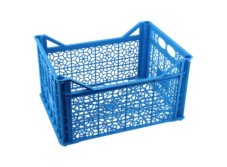 big blue crate