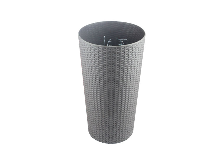 gray plastic container