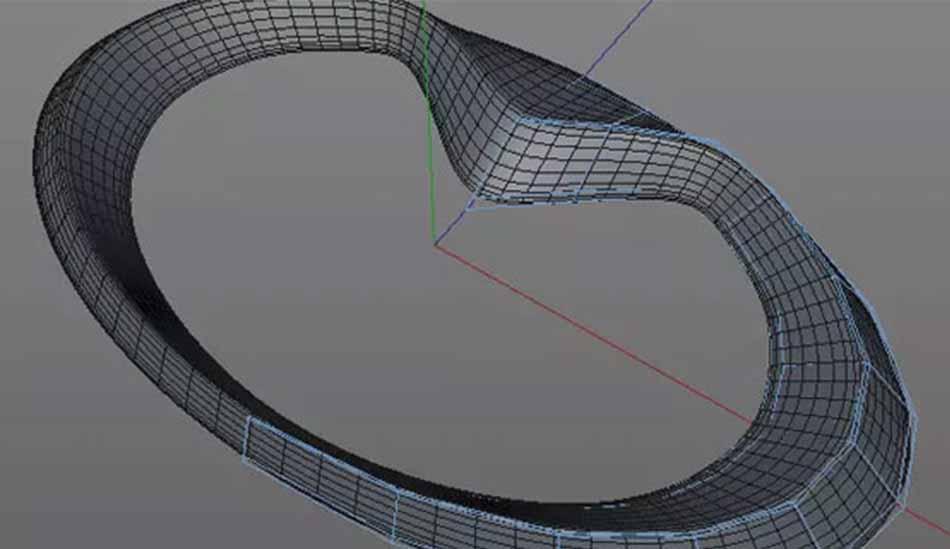 3d image of a plastic part