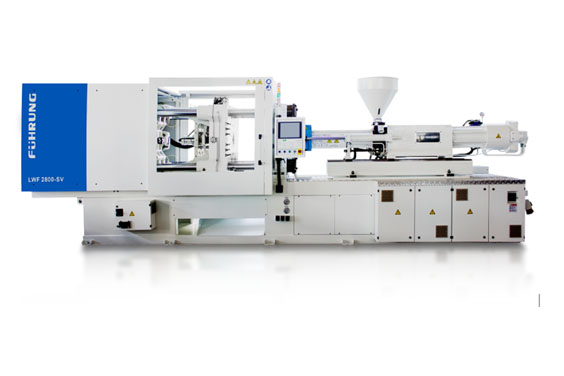 A Large Scale Injection Molding Machine