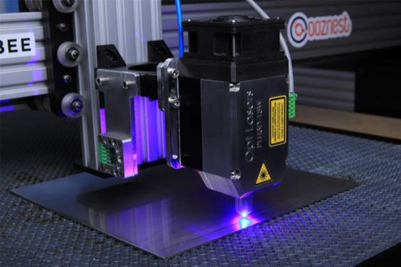 A Laser CNC Machine