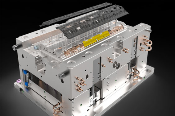 An Injection Mold Design