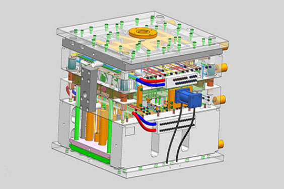 Cooling System Fow Mold Design