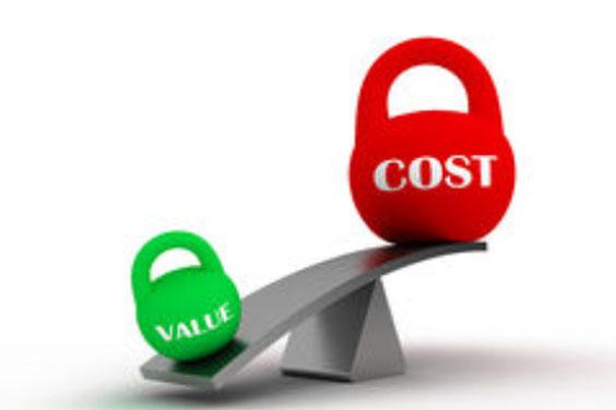 Cost vs. Value